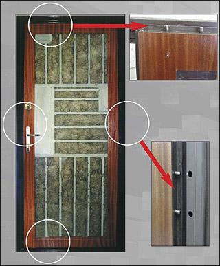 Mabisz biztonsági ajtó